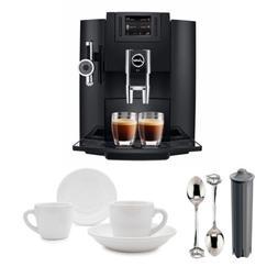 Jura 15109 Automatic Coffee Machine E8 w/ Jura Milk Containe
