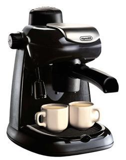 DeLonghi EC5 Steam-Driven 4-Cup Espresso and Coffee Maker, B