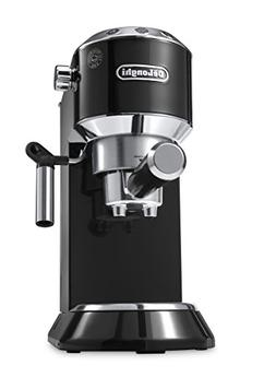 DeLonghi EC680B Black DEDICA 15-Bar Pump Espresso Machine