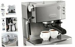 EC702 15-Bar-Pump Espresso Maker, Stainless, Metal