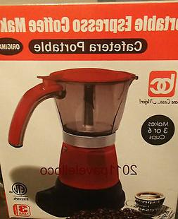 Electric Cuban Coffee Maker Espresso 1/6 Cups cafetera elect