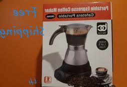 ELECTRIC CUBAN ESPRESSO COFFEE MAKER.CAFETERA ELÉCTRICA CUB