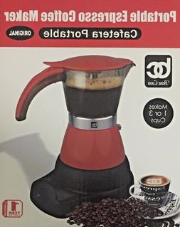 Electric Cuban Espresso Coffee Maker