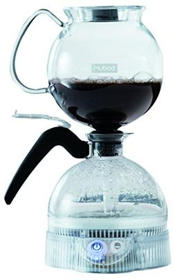 Bodum ePEBO Coffee Maker, Electric Vacuum Coffee Maker, Siph