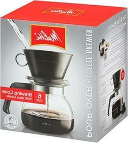 Melitta Espresso Bar cone filter Coffee Maker 6 Cup Pour Bre