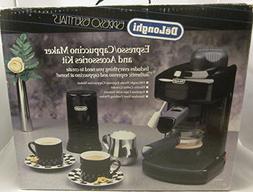 DeLonghi Espresso Cappuccino Maker and Accessories Kit BAR-4