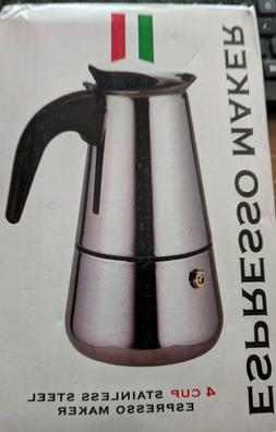ESPRESSO Coffee Maker 4 CUP Stainless Steel Stove Top Percol