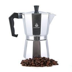 6 Cup Espresso Coffee Maker Stove Top Italian Moka Macchinet
