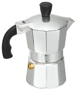 IMUSA USA B120-41V Aluminum Espresso Stovetop Coffeemaker 1-