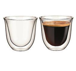 Espresso Double Wall Thermo Glasses Set of 2 x Cremona Glass