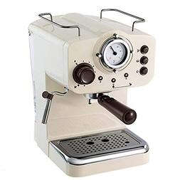 Espresso Machine 15Bar Pump Coffee Machine Retro Espresso Ma