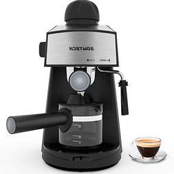 Espresso Machine 3.5 Bar 4 Cup Espresso Maker Cappuccino Mac