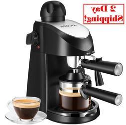Espresso Machine, Aicook 3.5Bar Coffee Maker, Espresso & Cap