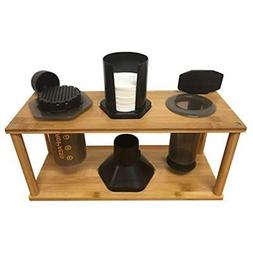 Espresso Machine & Coffeemaker Combos Bamboo Caddy For Aerop