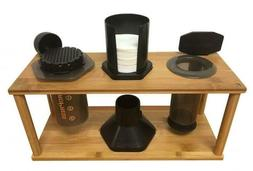 Espresso Machine & Coffeemaker Combos Bamboo Caddy For Aerop