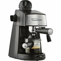 Espresso Machine Cappuccino Coffee Maker Barista Stainless S