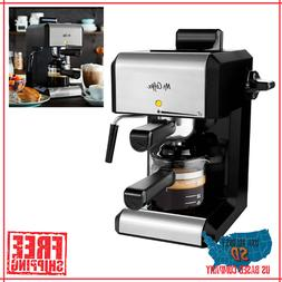 Espresso Machine Coffee Bar Milk Steam Frother Cappuccino La