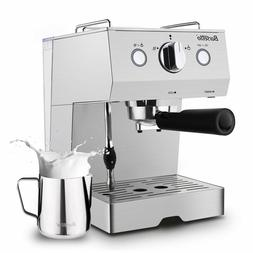 espresso machine with milk frother espresso maker