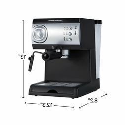 Hamilton Beach Espresso Maker Uses Pods Or Ground Coffee 105