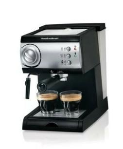 Hamilton Beach Espresso Maker with 15-bar Italian pump ~Bran