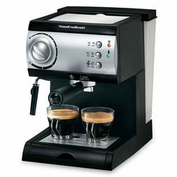 Hamilton Beach Espresso Maker with 15-bar Italian pump ~Bran