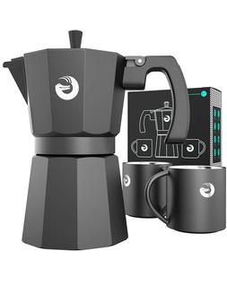 espresso moka pot stovetop brewer plus 2