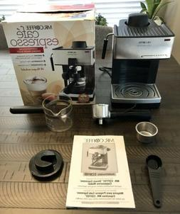 Espresso Mr Coffee Machine Automatic Cafe Barista Maker with