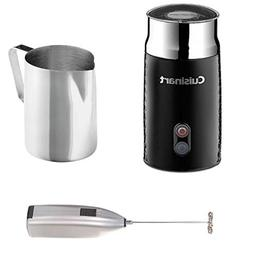 Cuisinart FR-10 Tazzaccino Milk Frother, Black Includes Stai