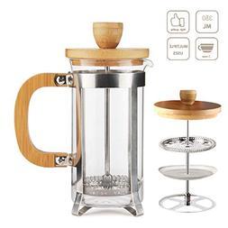 French Press Coffee/Tea Maker by Sivaphe Espresso Press Milk