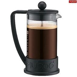 Bodum French Press Brazil Coffee Maker 3 Cup 0.35 L Black Es