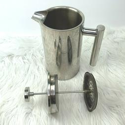 french press coffee espresso maker stainless complete