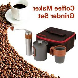 French Press Coffee Maker Stainless Steel 4 Cup 24oz Cafetie