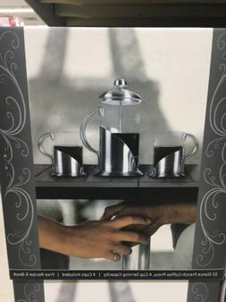 French Press Coffee Tea & Espresso Maker By Pura Vida - Dura
