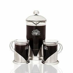 French Press Coffee, Tea & Espresso Maker By Pura Vida - Dur