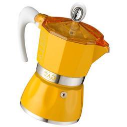 GAT Bella 6 Cup Stove Top Traditional Italian Espresso Coffe
