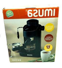Imusa Gau 18200 Electric Espresso & Cappuccino Maker 4 Cup -
