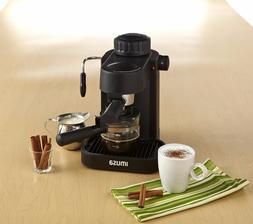 IMUSA, GAU-18200 Electric Espresso & Cappuccino Maker 4-Cup