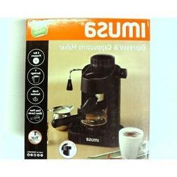 IMUSA, GAU-18200, Electric Espresso & Cappuccino Maker 4-Cup