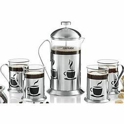 GCM9845 French Press Coffee Maker Set 800 Ml Decorative Brew