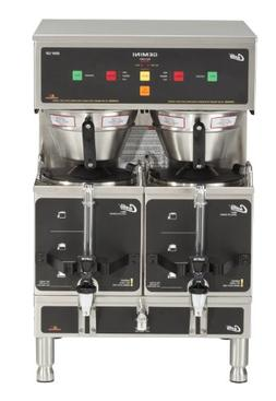 Wilbur Curtis Gemini Twin Coffee Brewer, ADS Digital, 1.5 Ga