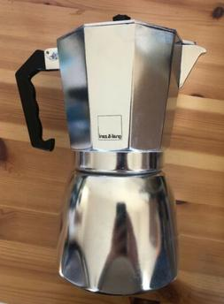 Gnali & Zani Stove Top Espresso Maker Moka Pot Percolator 9