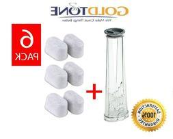 6 GoldTone Charcoal Water Filters + Keurig Filter Holder 2.0