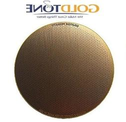 GoldTone Reusable Disk Coffee Filter for Aeropress Coffee Es