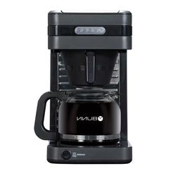 Grey Finish Coffee Maker With Drip-Free Carafe 10-Cup Modern