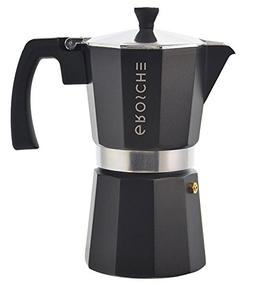 GROSCHE Milano Moka Stovetop Espresso Coffee Maker With Ital