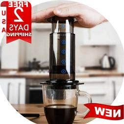 GUINUINE  ORIGINAL AeroPress Quick & Fast Coffee Maker cup p