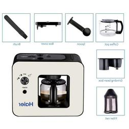 Haier Brew Automatic Coffee Makers 4 Cup with Grinder Espres