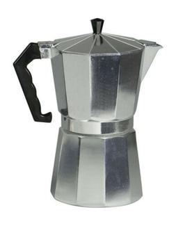 Home Basics NEW Aluminum 12 Cup Stovetop Espresso Maker - EM