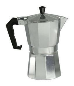 Home Basics NEW Aluminum 6 Cup Stovetop Espresso Maker - EM0