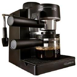 HOME ESPRESSO MACHINE W/ Milk Steam Frother 4 Cup Cappuccino